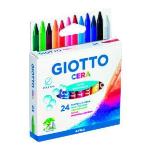 GIOTTO CERA – Confezione da 24 pz.