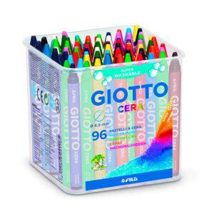 BARATTOLO GIOTTO CERA – Confezione da 96 pz.