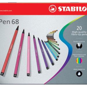 STABILO PEN 68 – Confezione da 20 pz.