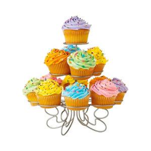 Supporto per Cupcake e Muffin Metallo 3 Livelli