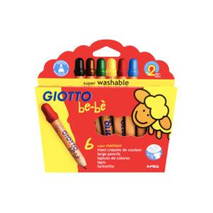 GIOTTO be-bè – Supermatitoni Astuccio 6 Colori