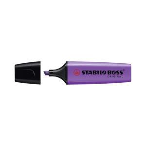 STABILO BOSS ORIGINAL Evidenziatore colore LAVANDA – Confezione da 2