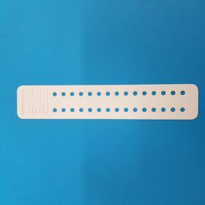 Cartoncino per perle diametro 6 mm – 25 pz.