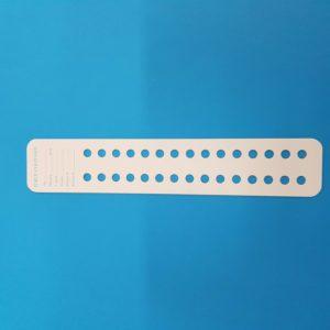 Cartoncino per perle diametro 7 mm – 25 pz.