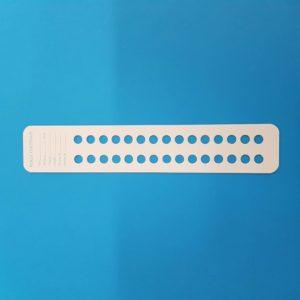 Cartoncino per perle diametro 8 mm – 25 pz.