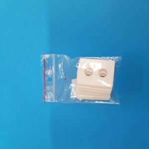 Cartoncino per perle diametro 10 mm – 2 fori – 25 pz.