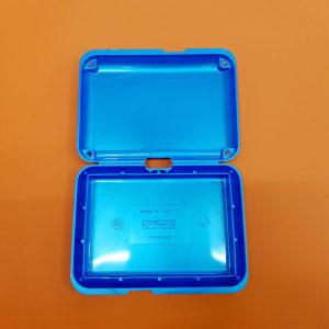Conchiglie per spedizione blu metallizzato big – 10 pz.