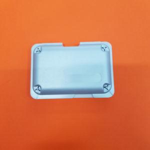 Conchiglie per spedizione argento metallizzato small – 10 pz.