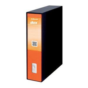 ESSELTE DOX2 Registratore – Protocollo dorso 8 cm – Arancione