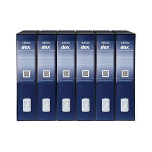ESSELTE DOX2 Registratore – Protocollo dorso 8 cm – Blu